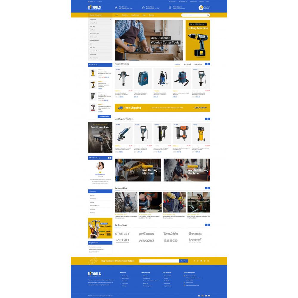 theme - Samochody - Tools - Online Store - 4