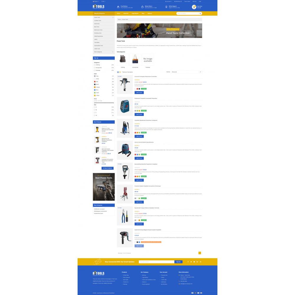 theme - Samochody - Tools - Online Store - 6