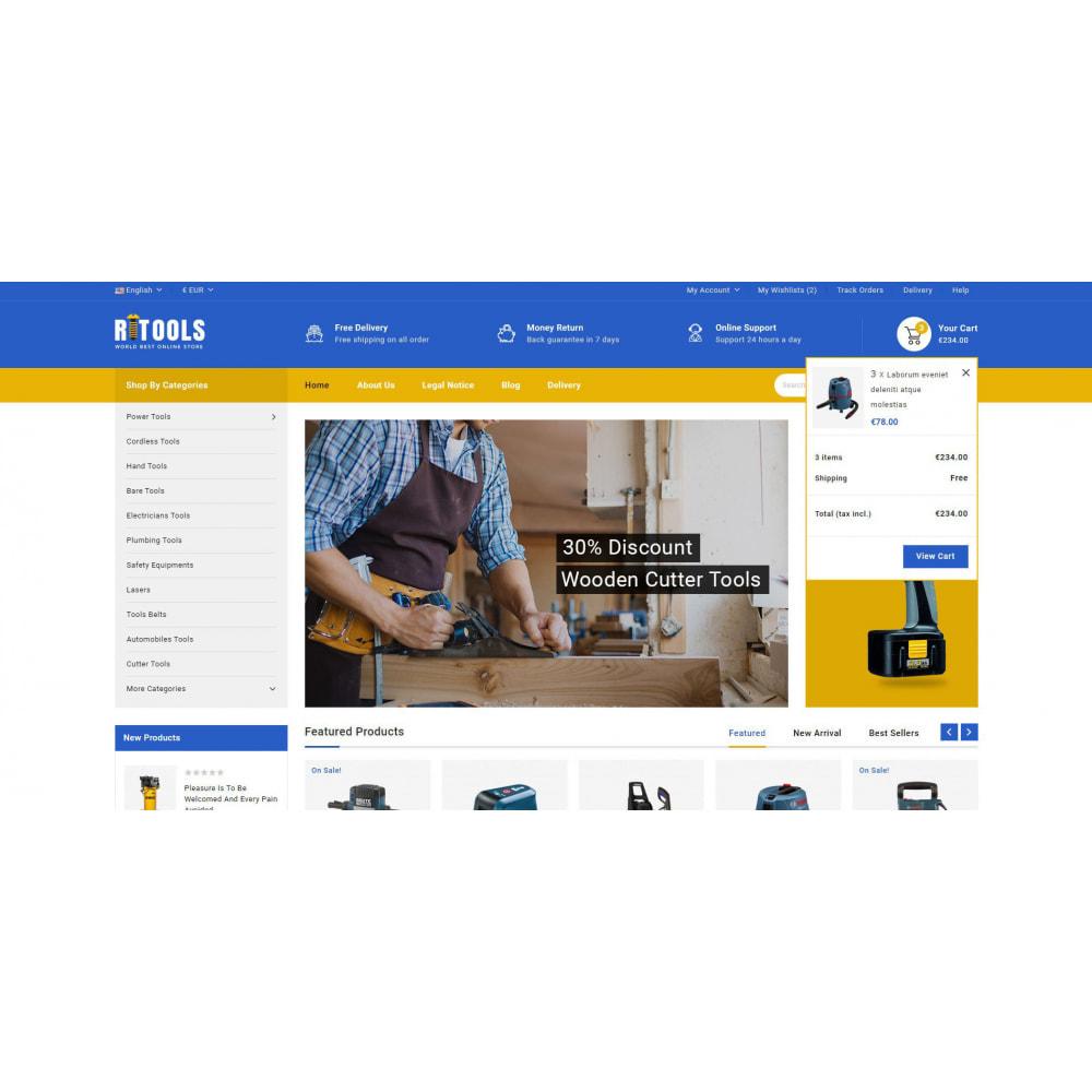 theme - Samochody - Tools - Online Store - 8