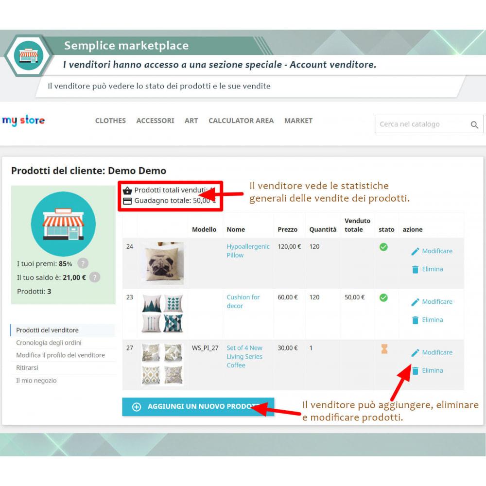 module - Creazione Marketplace - Simple Marketplace (Semplice marketplace) - 1