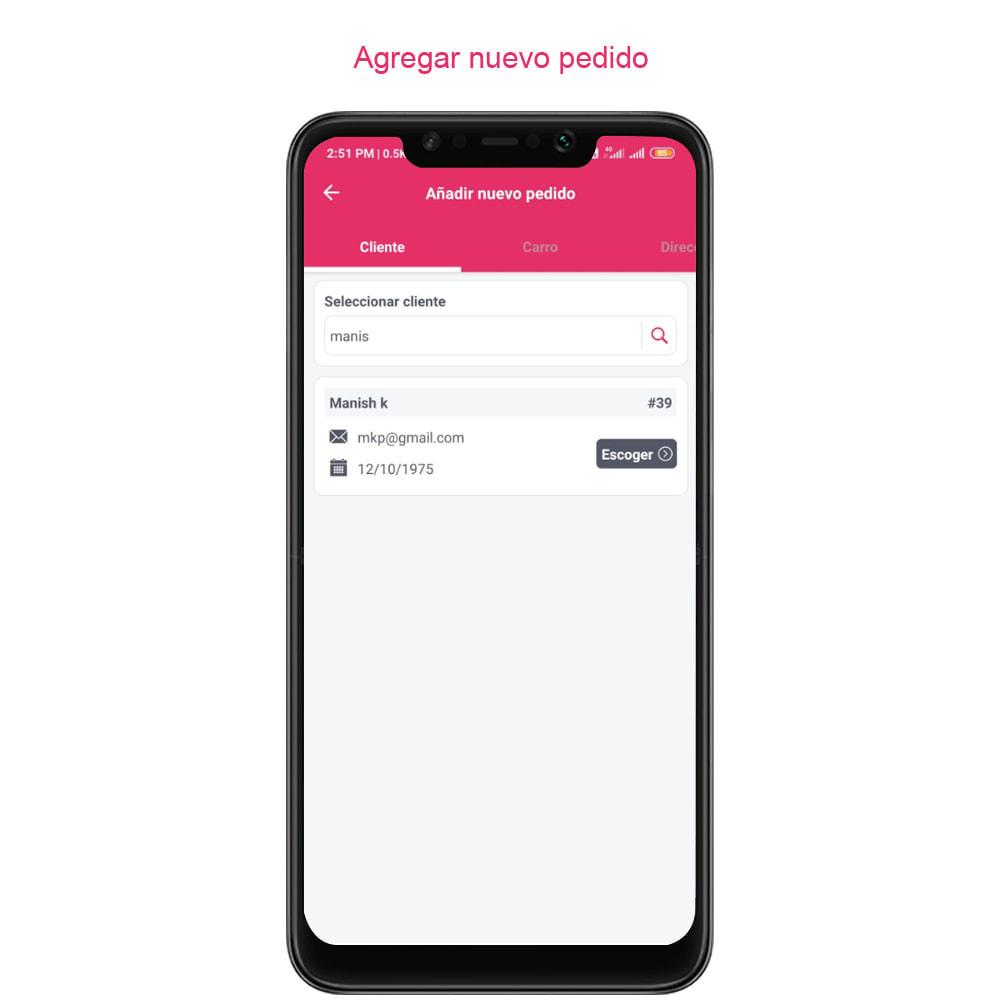 module - Dispositivos móviles - FE Presta Admin App - fácil a gestionar Tienda admin - 23