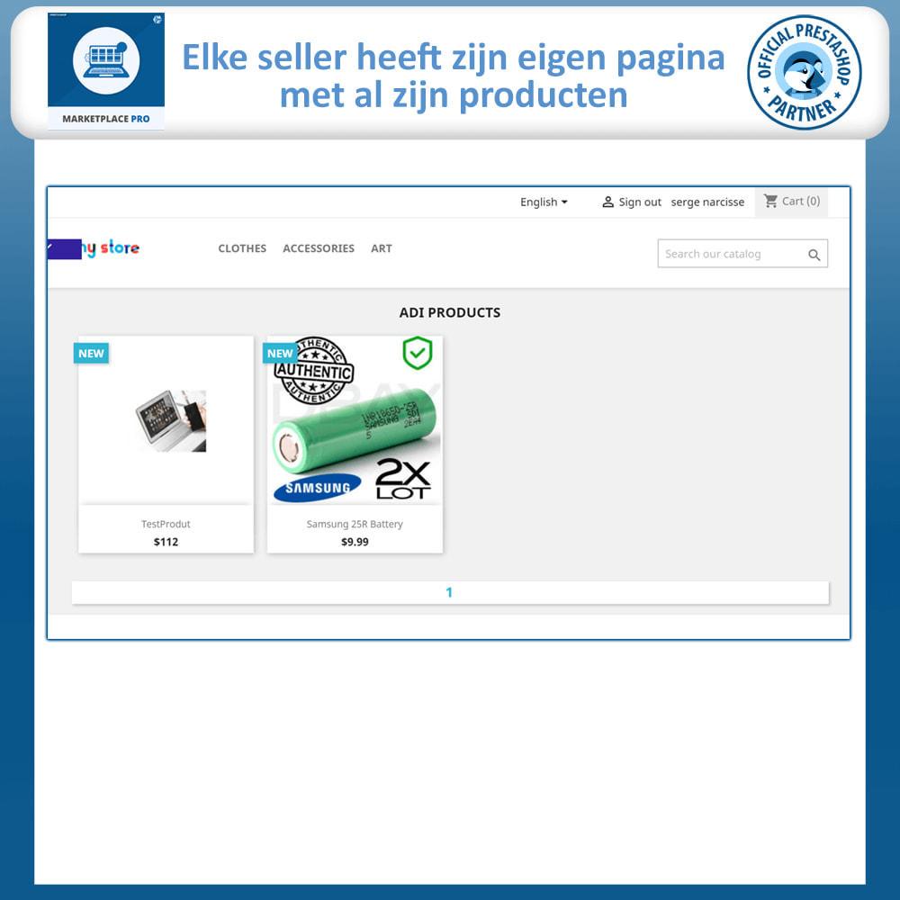 module - Marktplaats opzetten - Multi Vendor Marketplace  - Marketplace Pro - 4