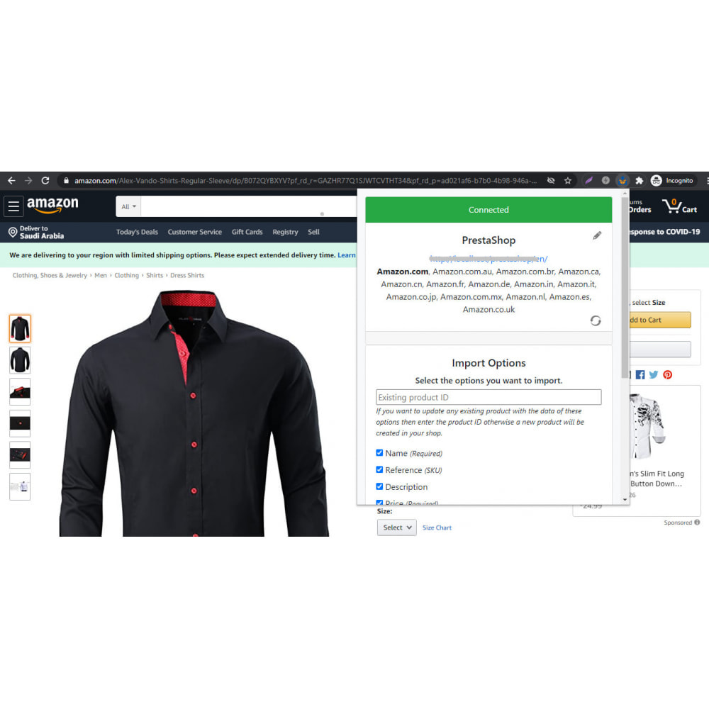module - Data Import & Export - Advanced Amazon Product Importer & Affiliate - 1