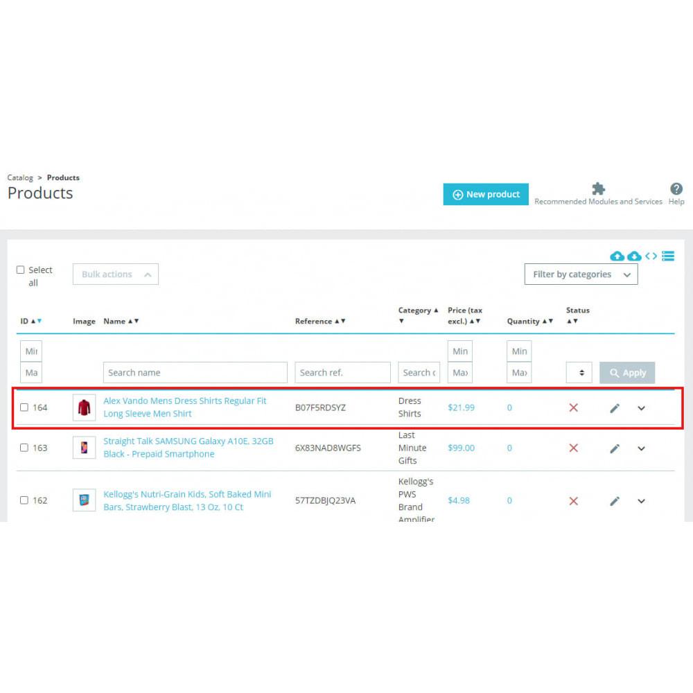 module - Data Import & Export - Advanced Amazon Product Importer & Affiliate - 3