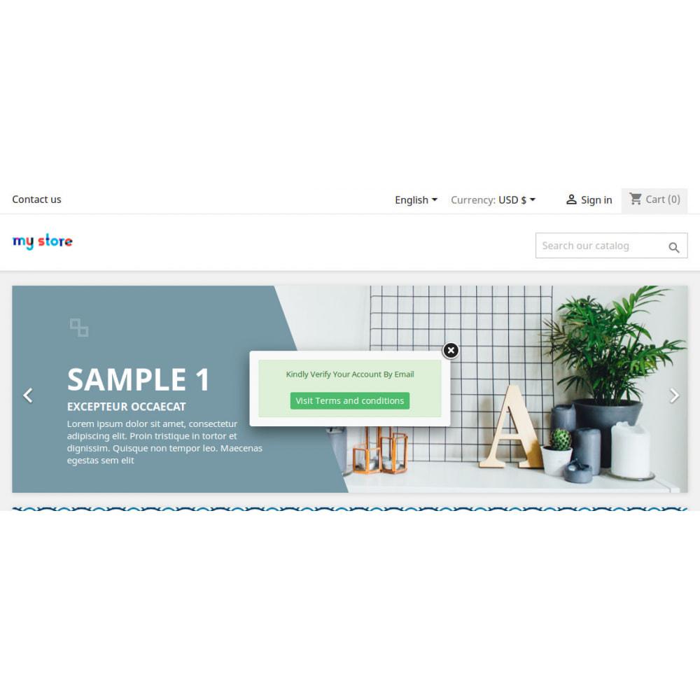 module - Zarządzanie klientami - Customer Account Activation / Email Verification - 3