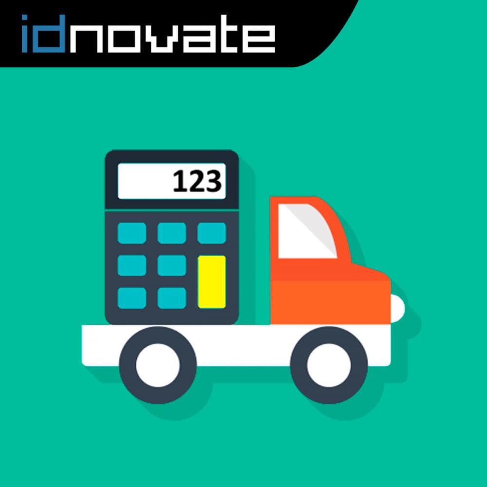module - Custo de frete - Custos de envio sem regras de carrinho/descontos - 1