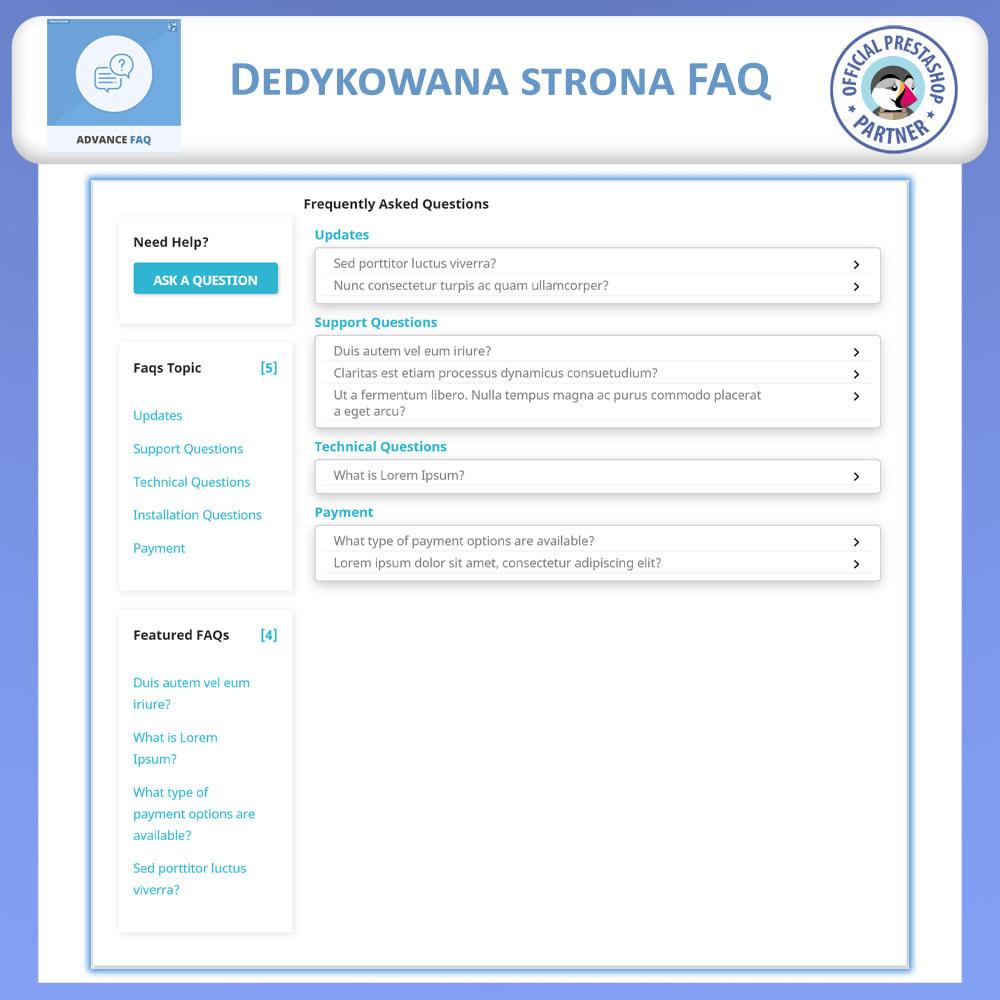 module - FAQ (Często zadawane pytania) - Zaawansowane FAQ - Często Zadawane Pytania - 3