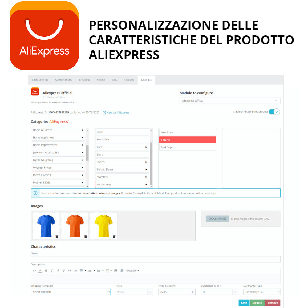 module - Marketplace - AliExpress Ufficiale - 1