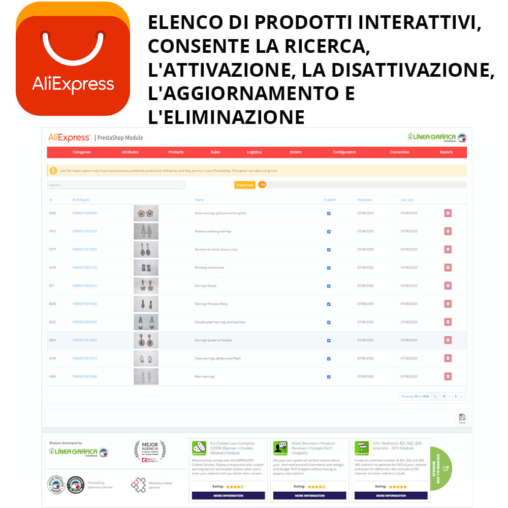 module - Marketplace - AliExpress Ufficiale - 2