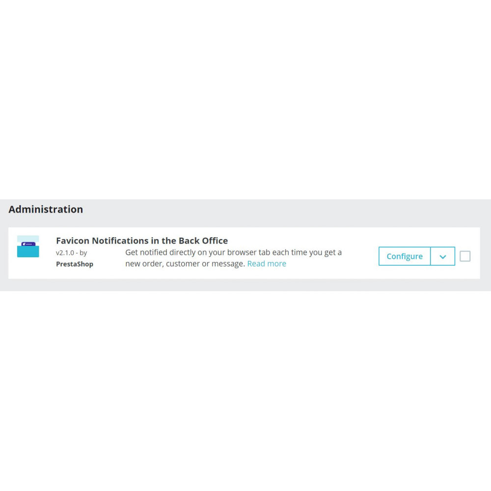 module - Notifications & Automatic Emails - Favicon Notifications in the Back Office - 1
