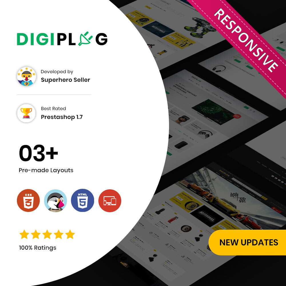 theme - Electronique & High Tech - Digiplug - The Mega Electronic Shop - 1
