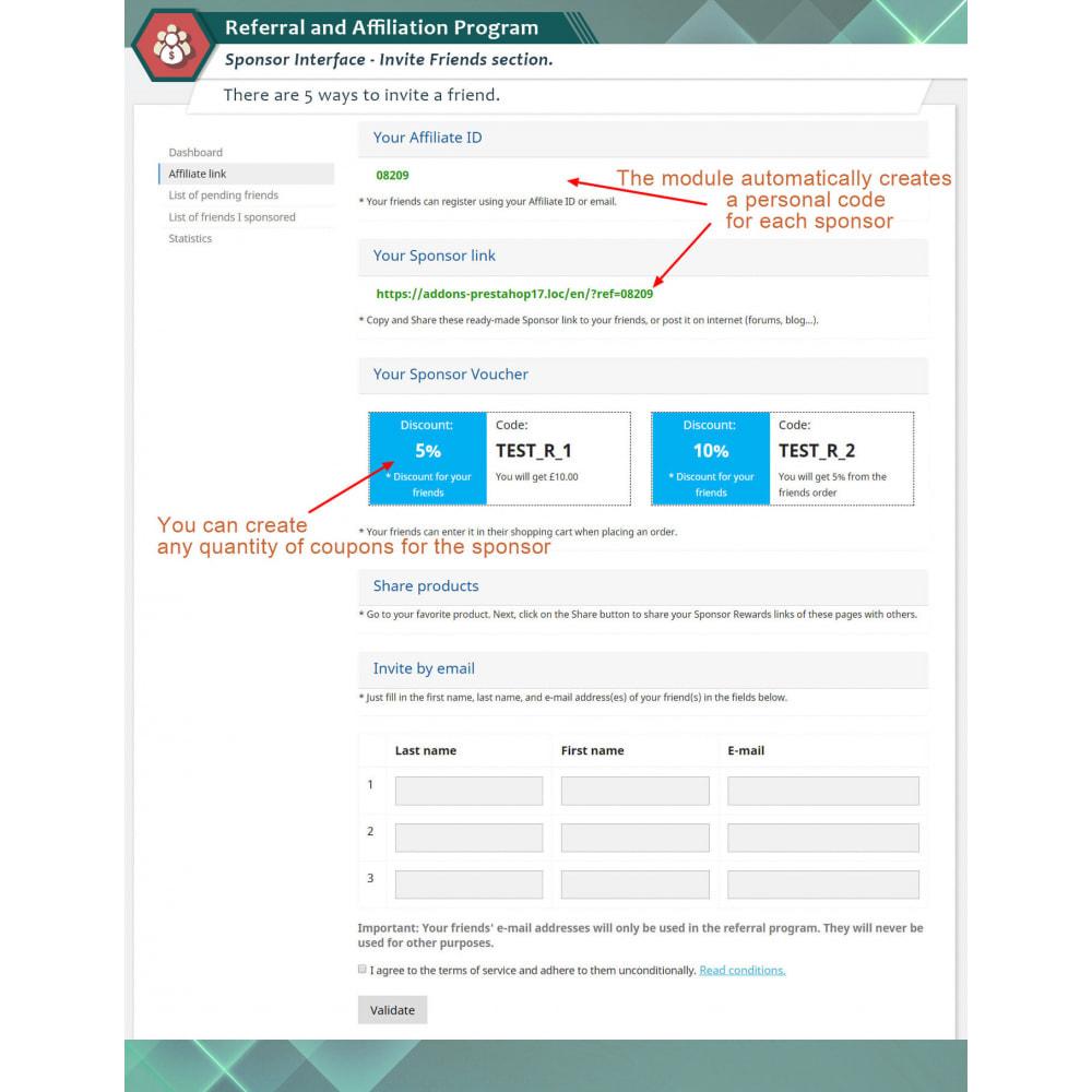 module - SEA SEM (paid advertising) & Affiliation Platforms - Referral and Affiliation Program - 2