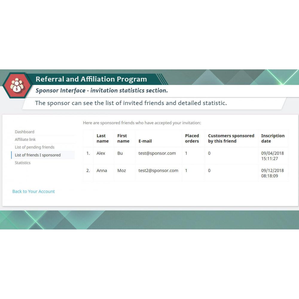 module - SEA SEM (paid advertising) & Affiliation Platforms - Referral and Affiliation Program - 3