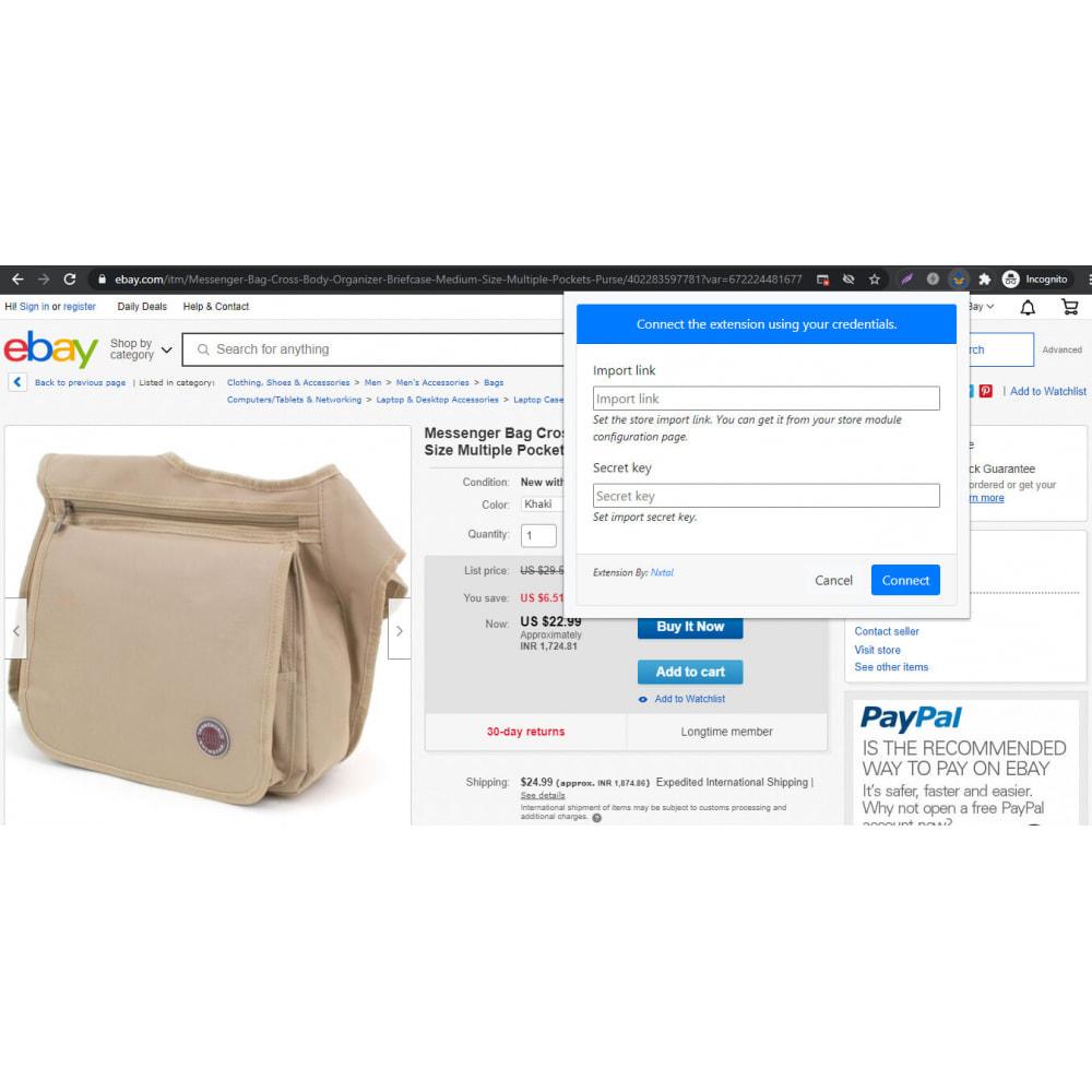 module - Importación y Exportación de datos - Advanced Ebay Product Importer & Affiliate - 1