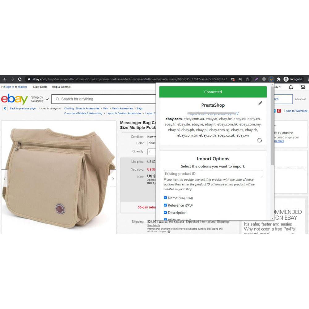 module - Importación y Exportación de datos - Advanced Ebay Product Importer & Affiliate - 2