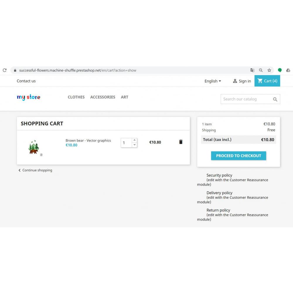 module - Produtos nas Facebook & Redes Sociais - Buy Button Lite - 2