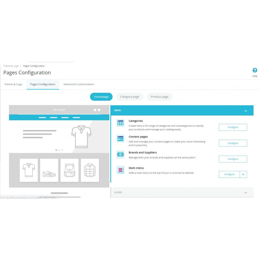 module - Personalizzazione pagine - Theme Customization - 1