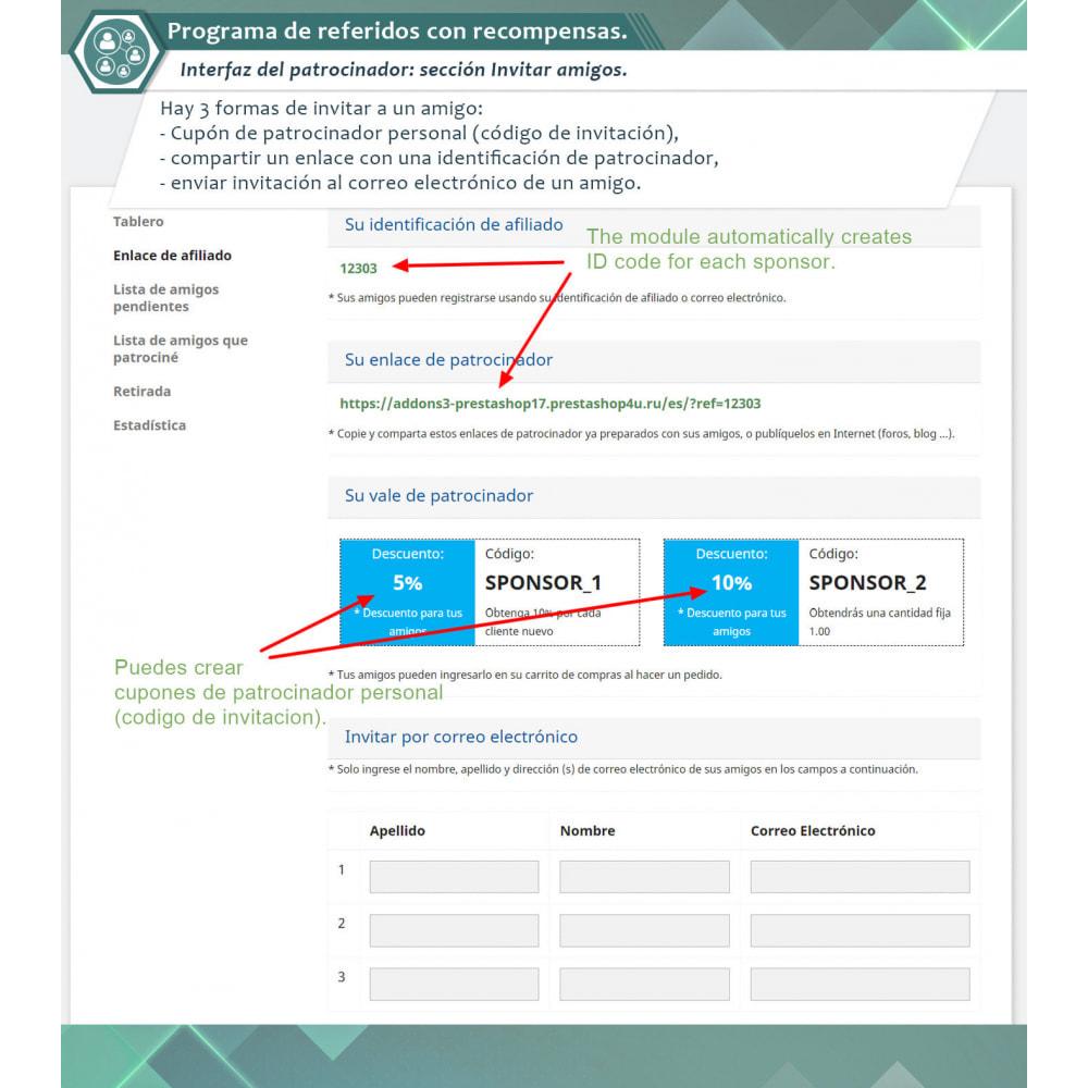 module - Programa de Fidelidad - Programa de referidos con recompensas. - 2
