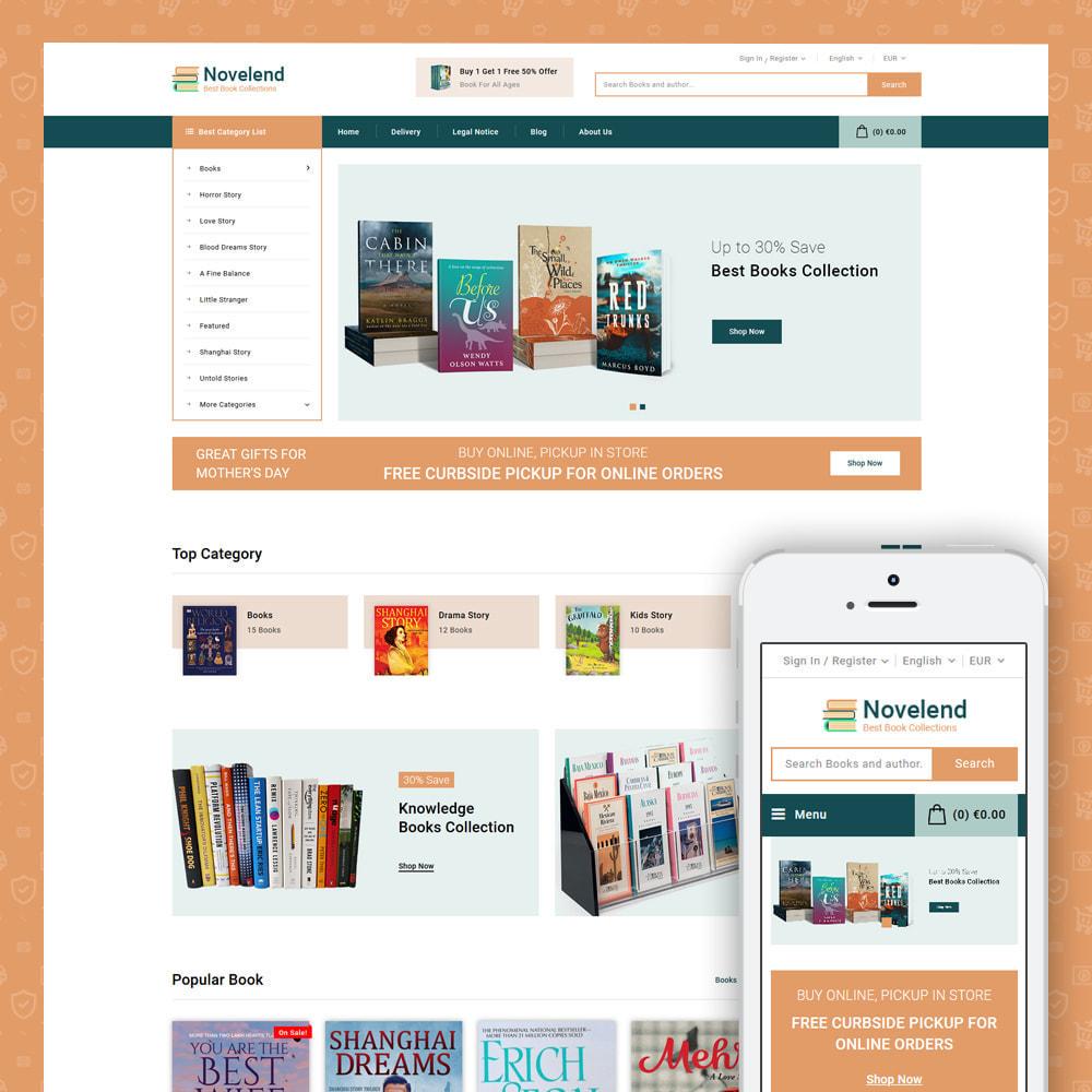 theme - Kultura & Sztuka - Online Book Store - 2