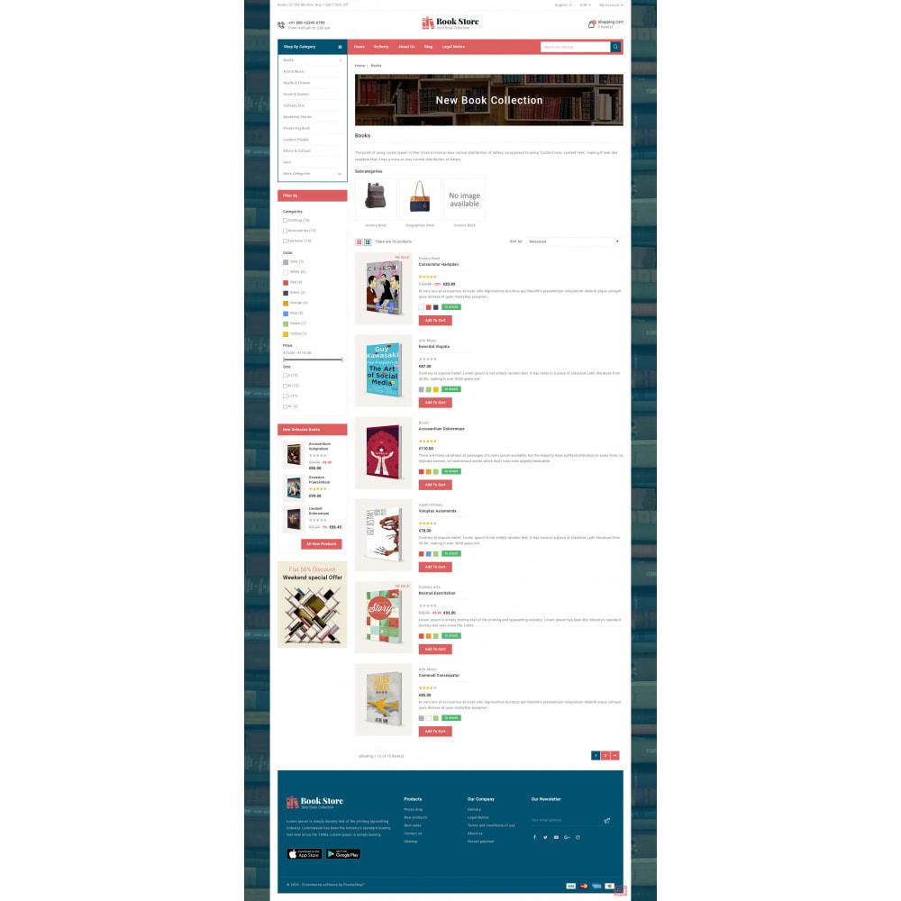 theme - Kultura & Sztuka - Online Book Store - 5