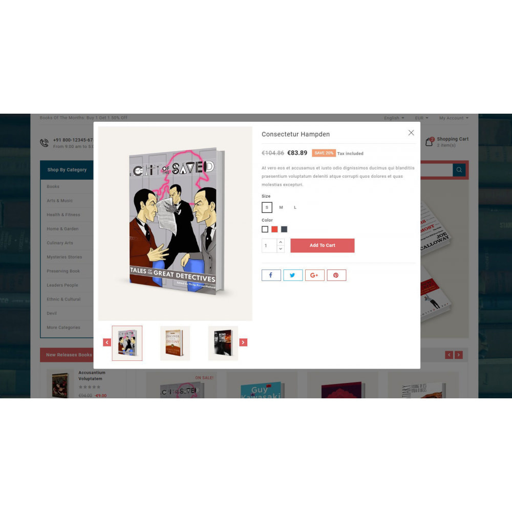 theme - Kultura & Sztuka - Online Book Store - 9