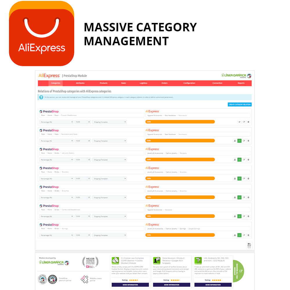 module - Marketplaces - AliExpress Official - 3