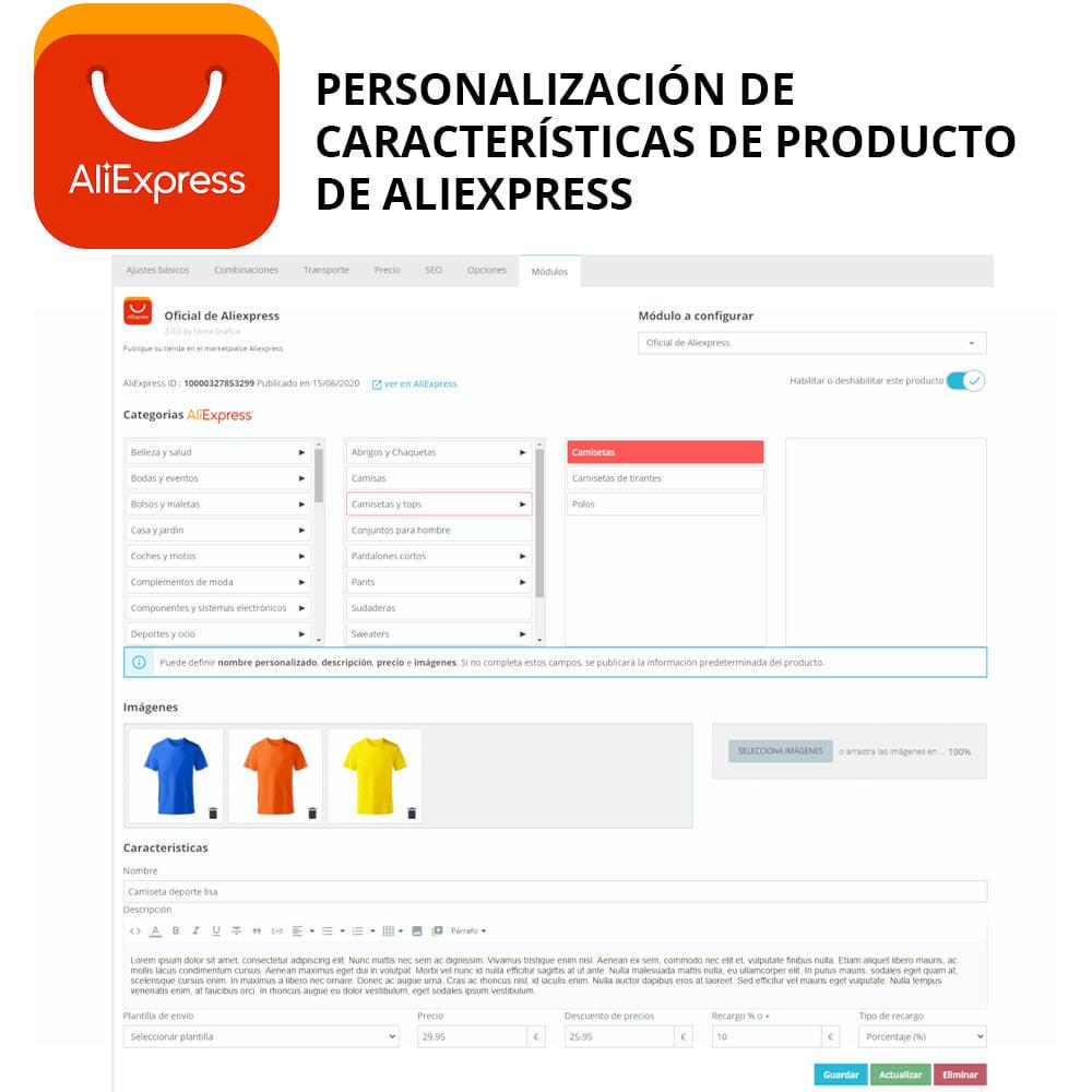 module - Marketplaces - Oficial AliExpress - 1