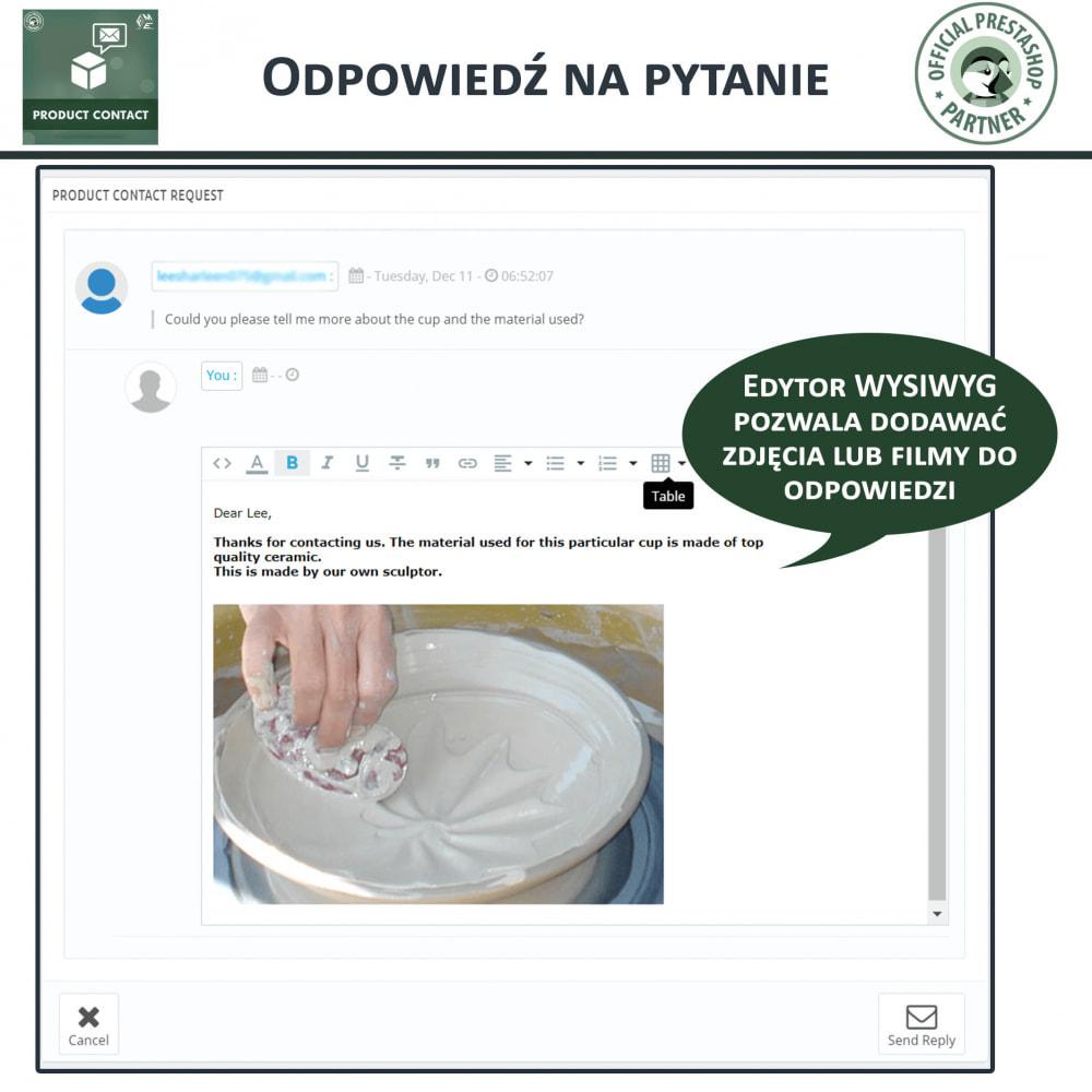 module - Formularz kontaktowy & Ankiety - Kontakt z Produktem - Formularz Zapytania - 7