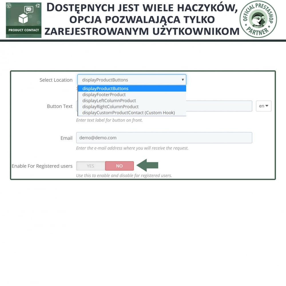 module - Formularz kontaktowy & Ankiety - Kontakt z Produktem - Formularz Zapytania - 8