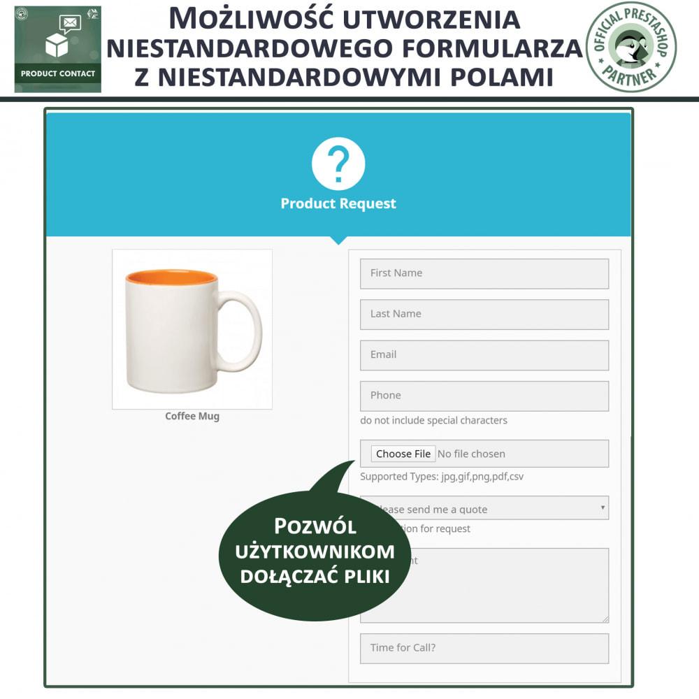 module - Formularz kontaktowy & Ankiety - Kontakt z Produktem - Formularz Zapytania - 9