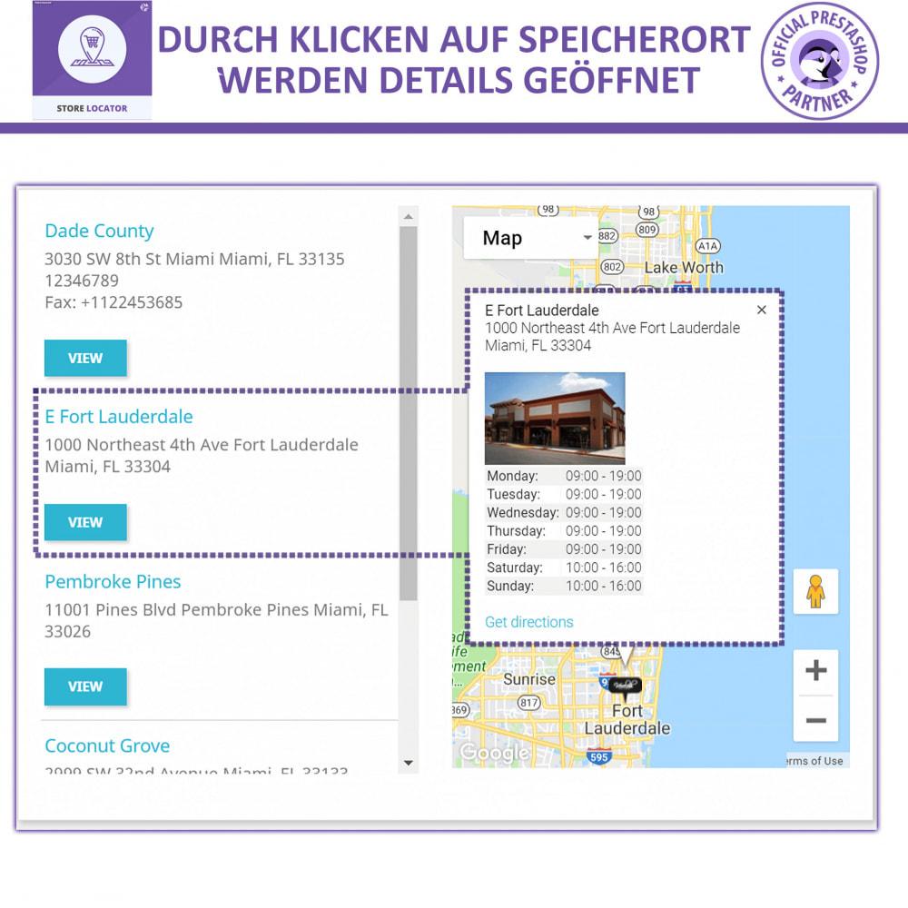 module - Internationalisierung & Lokalisierung - Shopfinder mit Google Maps - 4