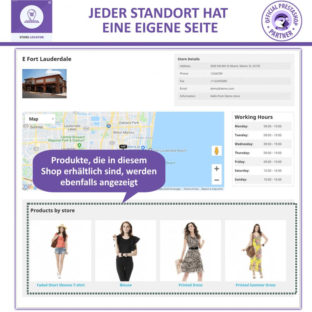 module - Internationalisierung & Lokalisierung - Shopfinder mit Google Maps - 5