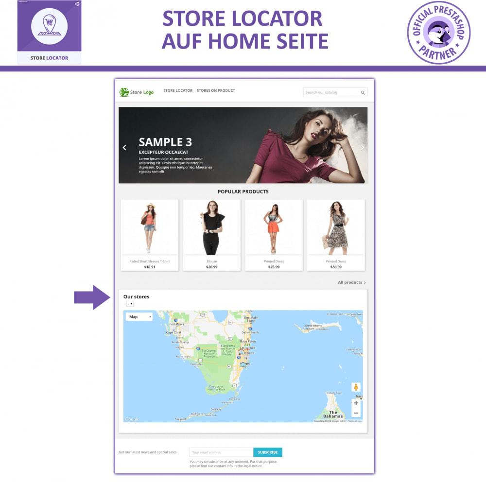 module - Internationalisierung & Lokalisierung - Shopfinder mit Google Maps - 7