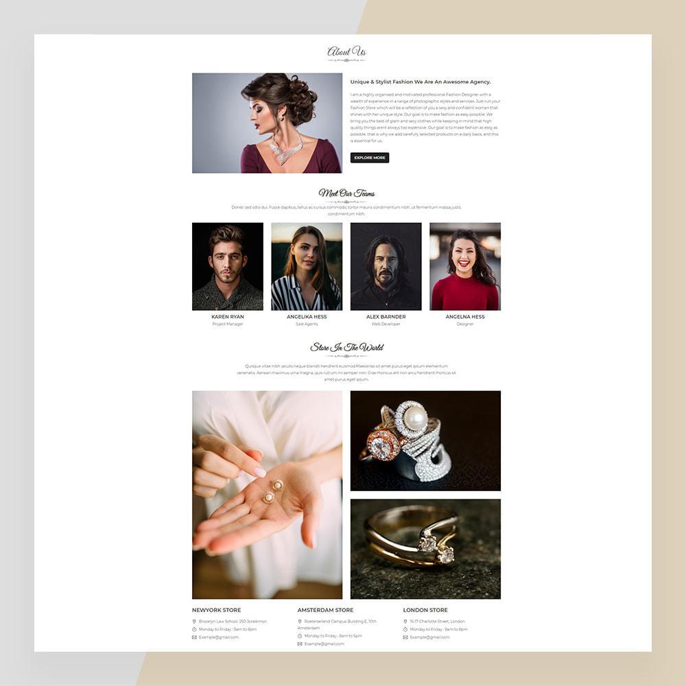 theme - Ювелирные изделия и Аксессуары - Emerald Jewelry - Jewellery & Accessories Template - 3