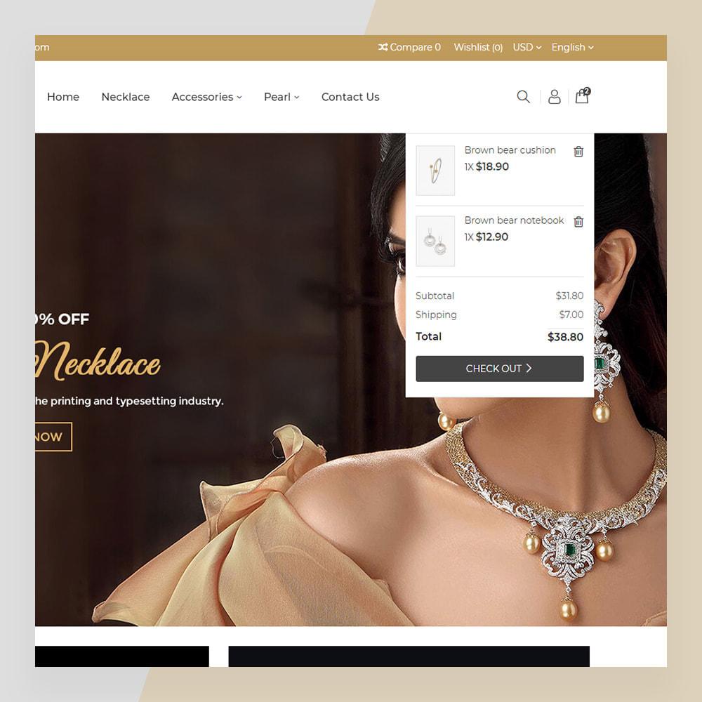 theme - Ювелирные изделия и Аксессуары - Emerald Jewelry - Jewellery & Accessories Template - 5
