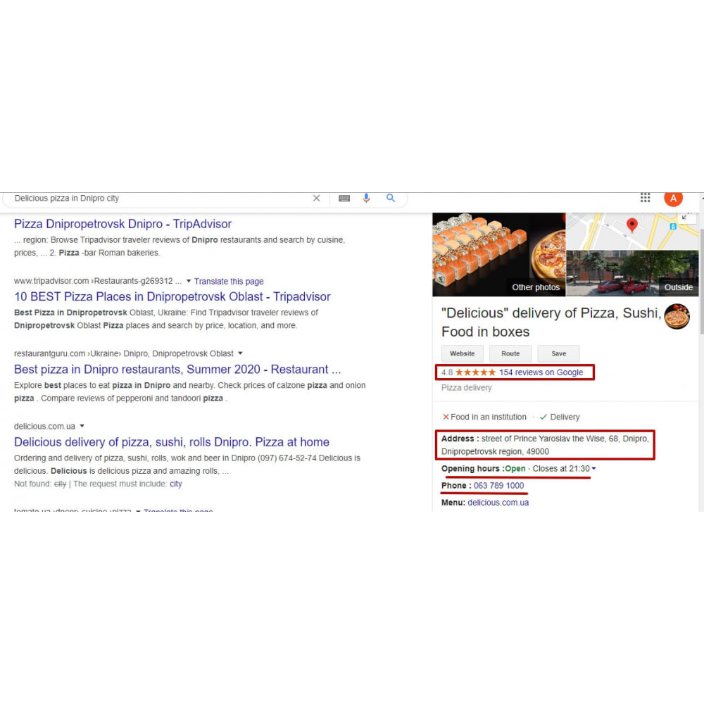 module - Естественная поисковая оптимизация - Rich Snippet + Comments + SEO + JSON-LD + Shema.org - 2
