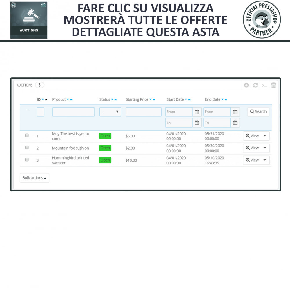 module - Aste - Asta Pro - Aste online e Offerte - 23