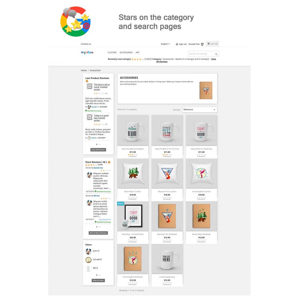 module - Klantbeoordelingen - Product, Shop Reviews, Loyalty Program, Google Snippets - 10