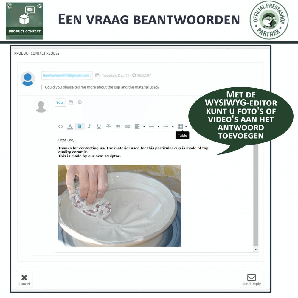 module - Contactformulier & Enquêtes - Product Contact - onderzoek Formulier - 9