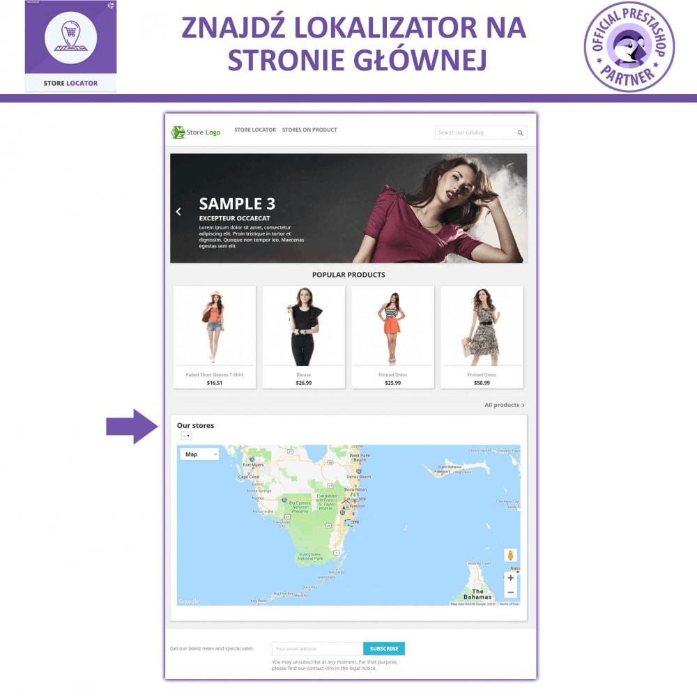 module - Międzynarodowość & Lokalizacja - Lokalizacji Sklepu Mapami Google - 7