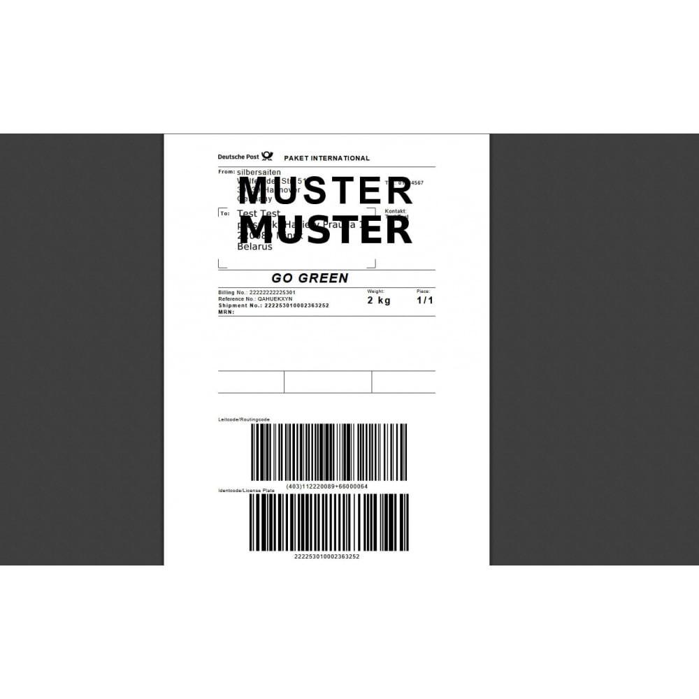 module - Versanddienstleister - DHL Geschäftskundenportal - 7