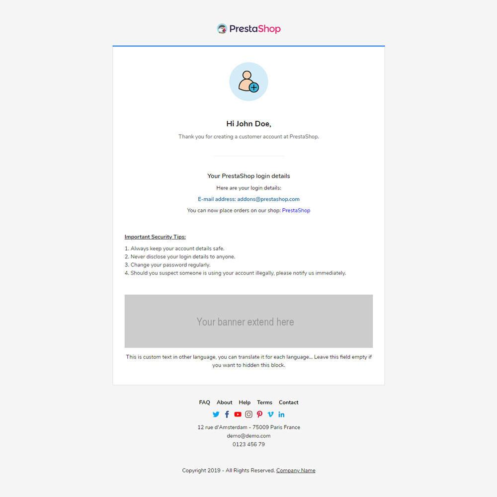 email - Plantillas de correos electrónicos PrestaShop - Alibaba - Template emails and for emails of module - 3