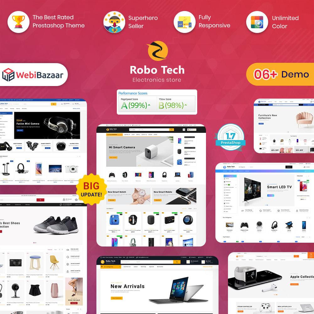 theme - Elettronica & High Tech - RoboTech - Mega Electronics Store - 1