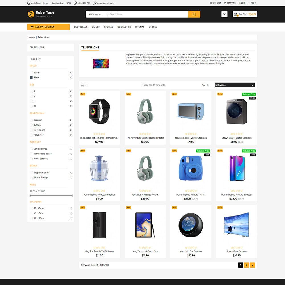 theme - Elettronica & High Tech - RoboTech - Mega Electronics Store - 8