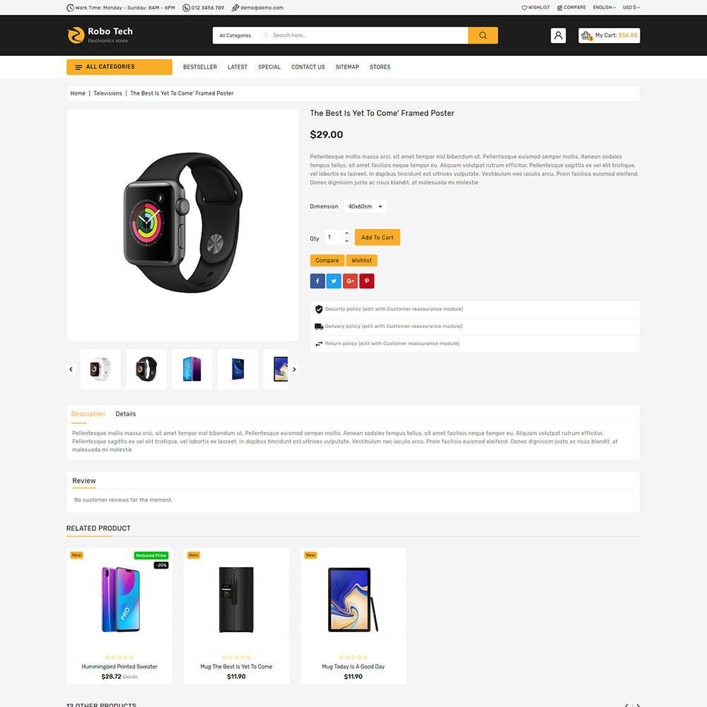 theme - Elettronica & High Tech - RoboTech - Mega Electronics Store - 10