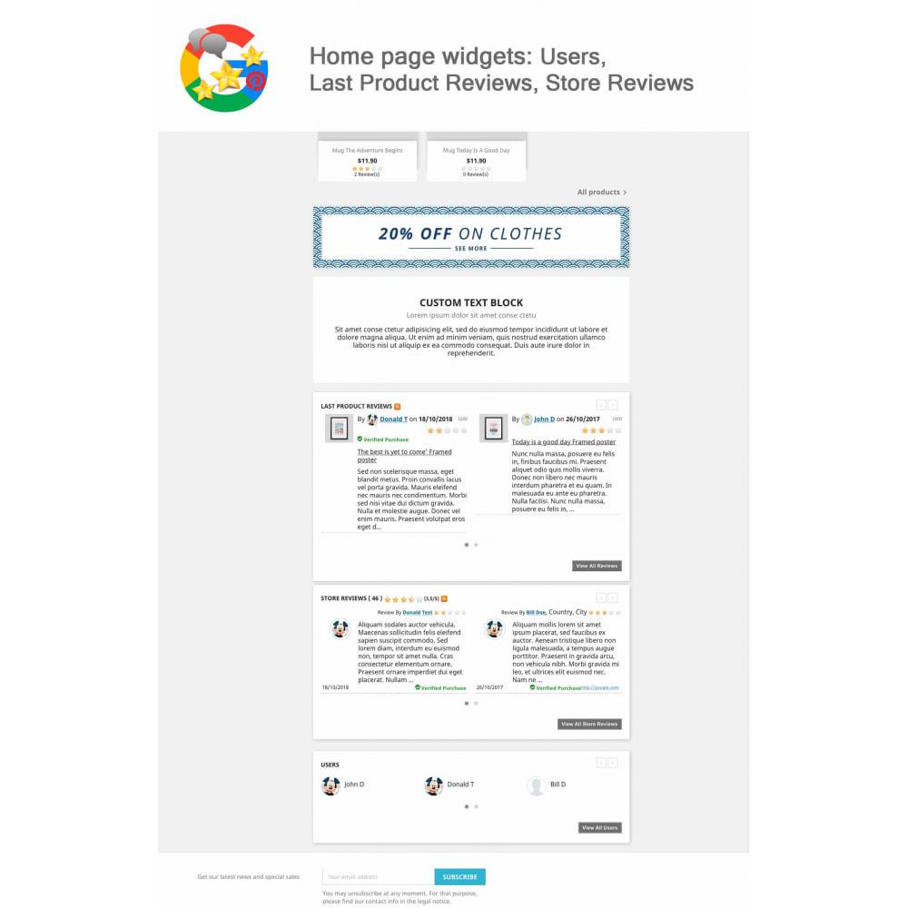 module - Klantbeoordelingen - Product, Shop Reviews, Loyalty Program, Google Snippets - 20