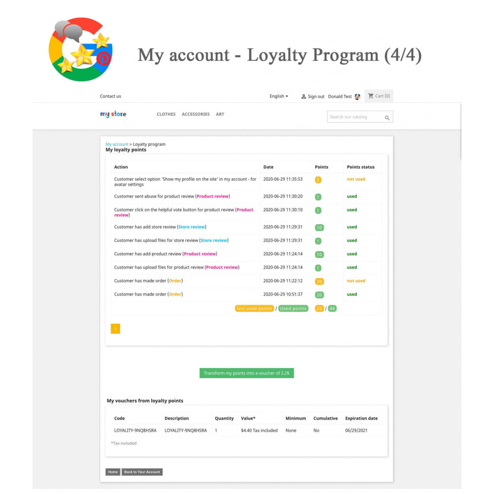 module - Klantbeoordelingen - Product, Shop Reviews, Loyalty Program, Google Snippets - 26