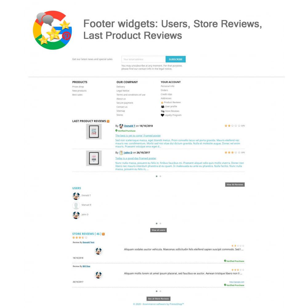 module - Avis clients - Produit+Boutique Avis, Points fidélité, Google Snippets - 21