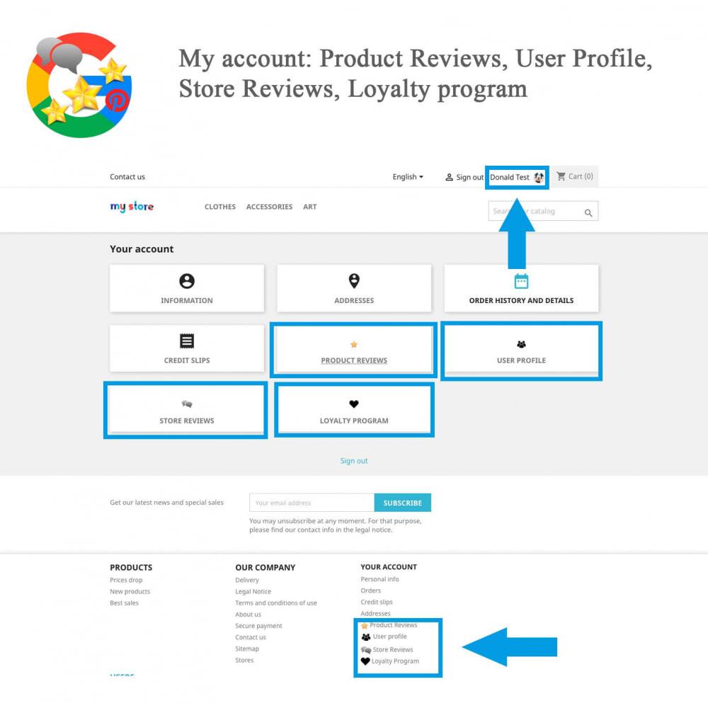 module - Avis clients - Produit+Boutique Avis, Points fidélité, Google Snippets - 22