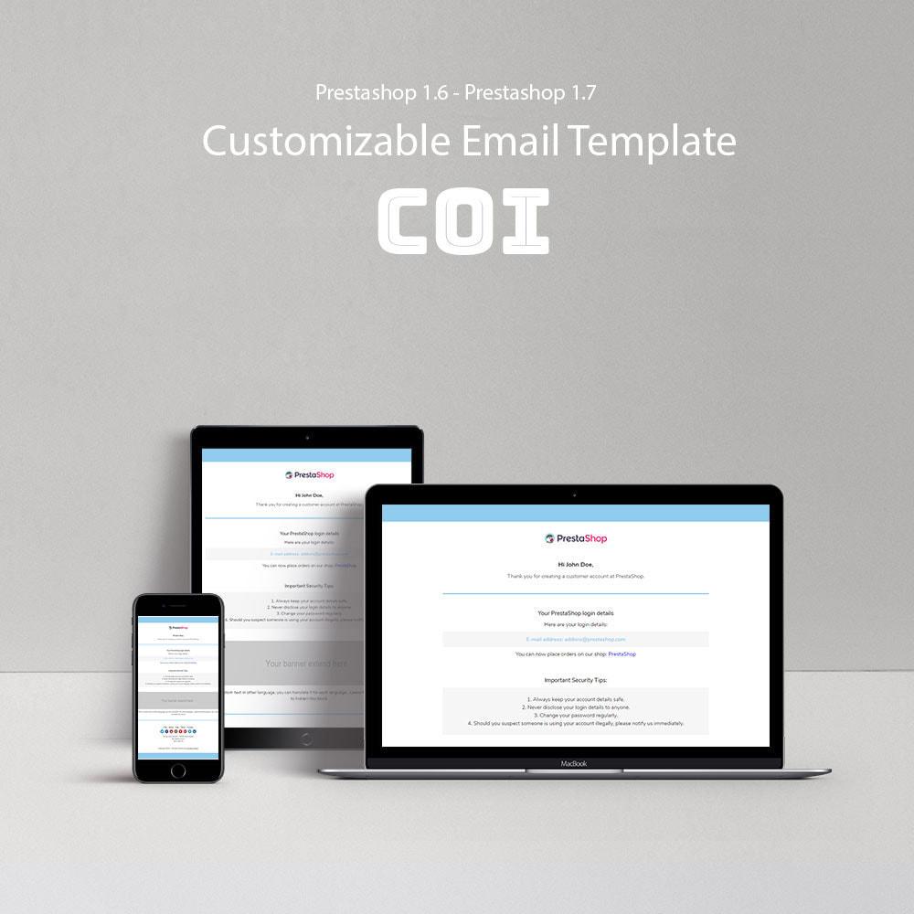 email - Plantillas de correos electrónicos PrestaShop - Coi - Template emails and for emails of module - 1